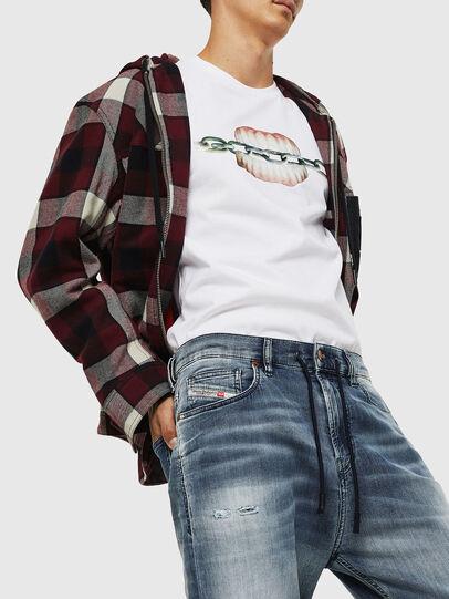 Diesel - D-Vider JoggJeans 069IP, Medium blue - Jeans - Image 3