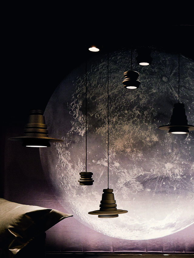 Living TOOL PICCOLA SOSP, Black - Hang Lighting - Image 4