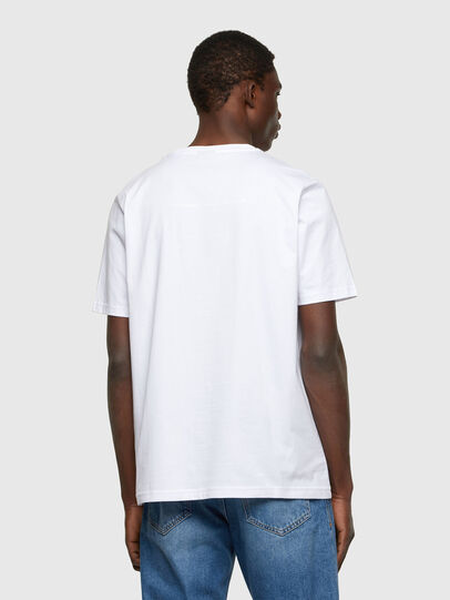 Diesel - T-JUST-A34, White - T-Shirts - Image 2
