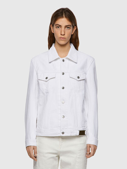 Diesel - NHILL-C1, White - Denim Jackets - Image 2
