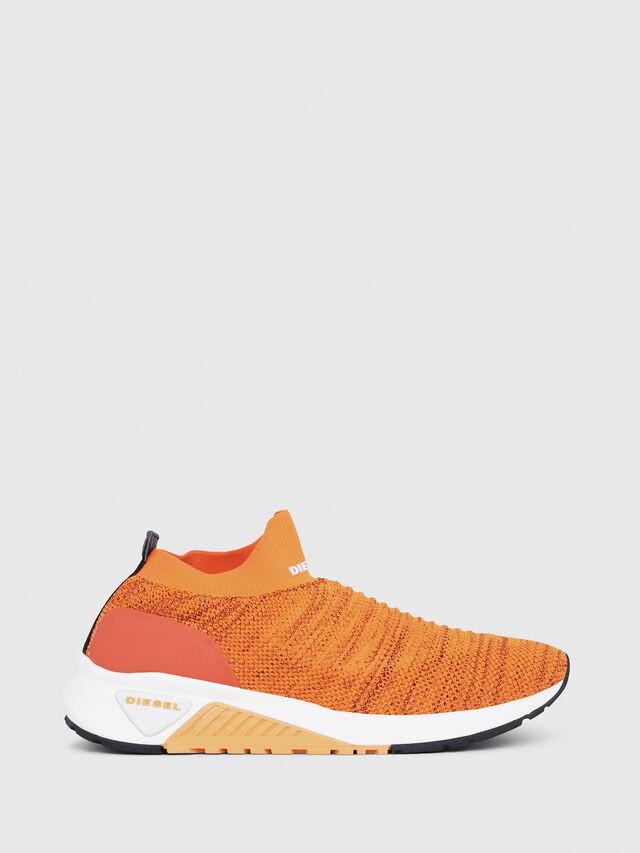 Diesel - S-KB ATHL SOCK, Orange - Sneakers - Image 1