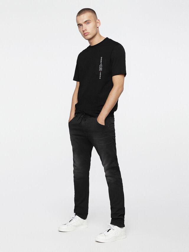 Diesel - Krooley JoggJeans 0670M, Black Jeans - Jeans - Image 4