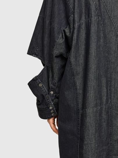 Diesel - DE-BLANCLE, Black - Dresses - Image 4