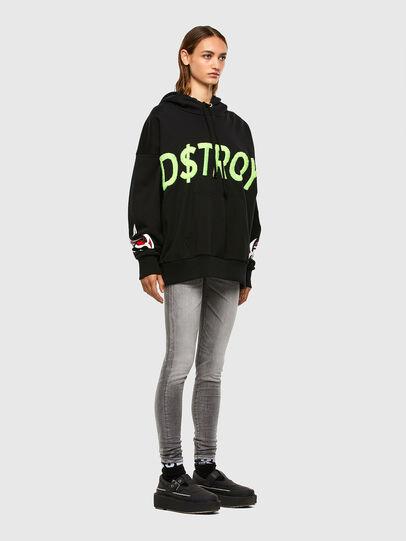 Diesel - Slandy Low 009FD, Light Grey - Jeans - Image 5