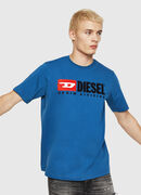 T-JUST-DIVISION, Blue - T-Shirts