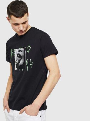 T-DIEGO-S12, Black - T-Shirts
