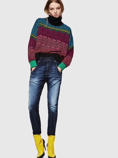 Diesel - Fayza JoggJeans 069IE, Dark Blue - Jeans - Image 6