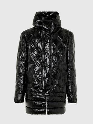 W-CRAWFORD-SHINY, Black - Winter Jackets