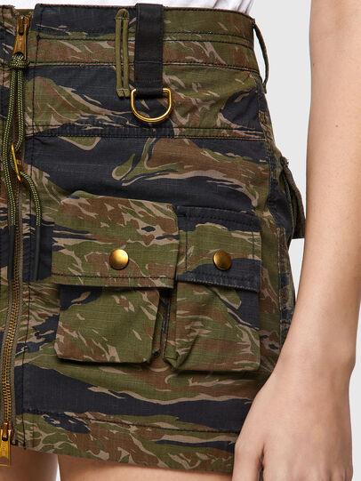 Diesel - O-IRAIDA-CMF, Military Green - Skirts - Image 3