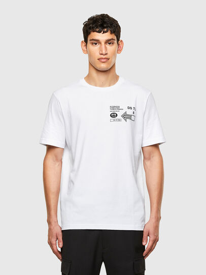 Diesel - T-JUST-A39, White - T-Shirts - Image 1