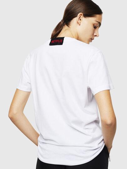 Diesel - LCP-T-DIEGO-DENVER, White - T-Shirts - Image 4
