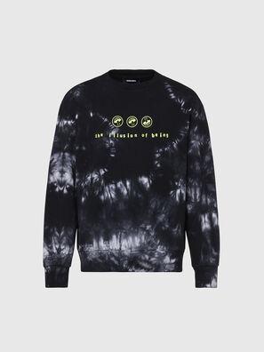 S-BIAY-X10, Black/Green - Sweaters