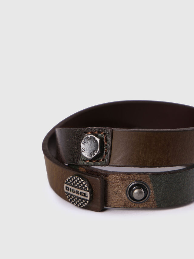 Diesel - A-TACTIC, Brown Leather - Bijoux and Gadgets - Image 2