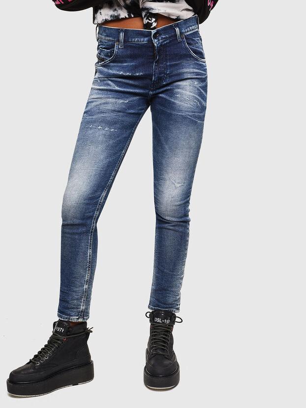 Krailey JoggJeans 0096M, Dark Blue - Jeans
