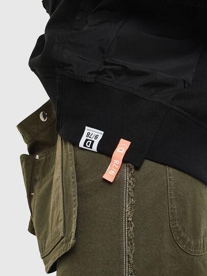 Diesel - F-ALLS, Black - Sweaters - Image 3