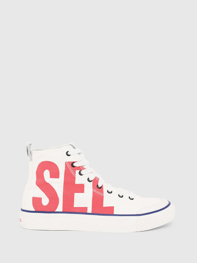 Diesel - S-ASTICO MC W, White/Red - Sneakers - Image 1