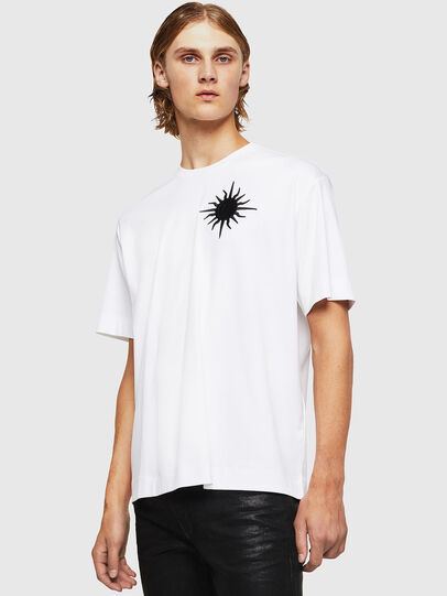 Diesel - TEORIALE-X1, White - T-Shirts - Image 1