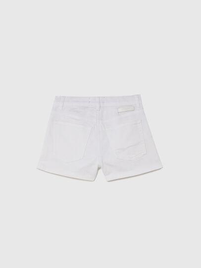 Diesel - PBOYSHORT JOGGJEANS, White - Shorts - Image 2