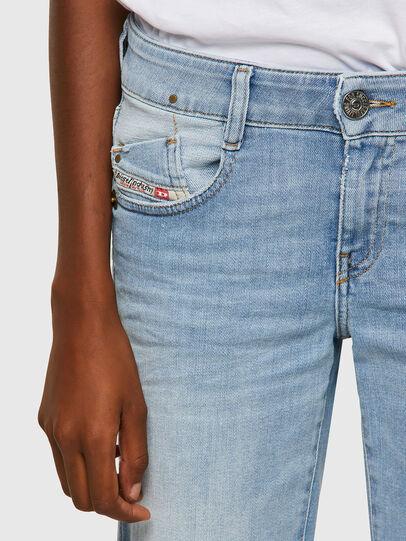 Diesel - D-Ebbey 009ZZ, Light Blue - Jeans - Image 4