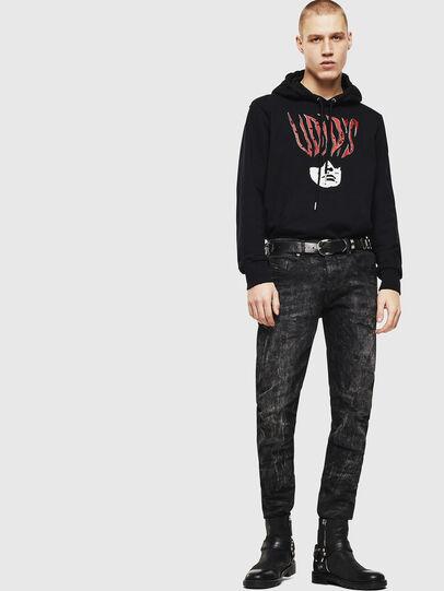 Diesel - S-GIRK-HOOD-J2, Black - Sweaters - Image 5
