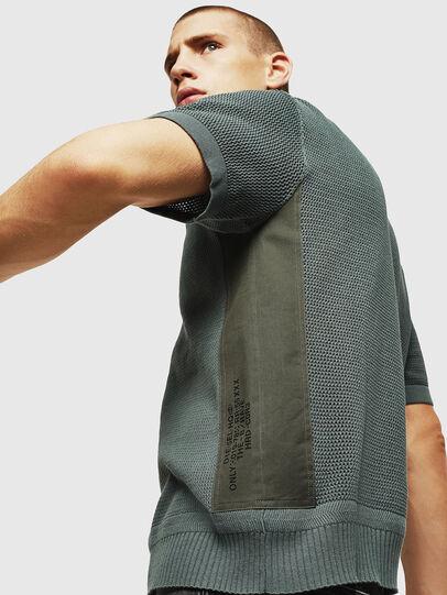Diesel - K-LORE, Olive Green - Knitwear - Image 4