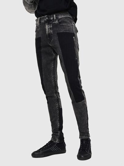 Diesel - D-Amny 0890T, Black/Dark grey - Jeans - Image 1