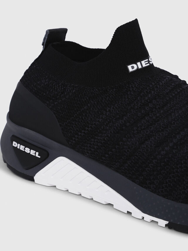 Diesel - S-KB ATHL SOCK, Black - Sneakers - Image 4