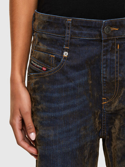 Diesel - Fayza 069RQ, Blue/Yellow - Jeans - Image 3