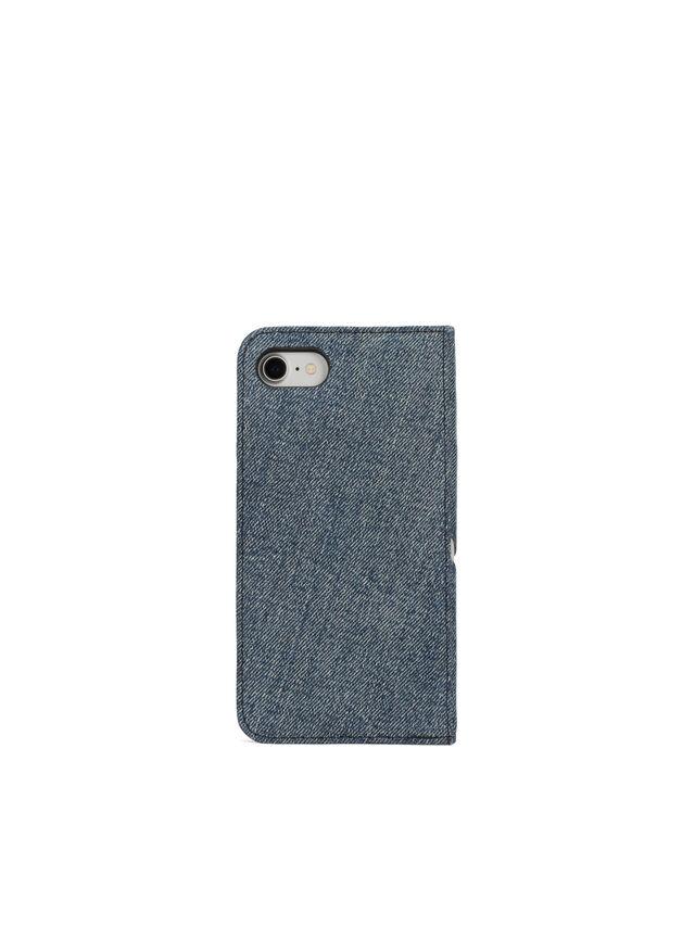 Diesel - DENIM IPHONE 8/7 FOLIO, Blue Jeans - Flip covers - Image 4