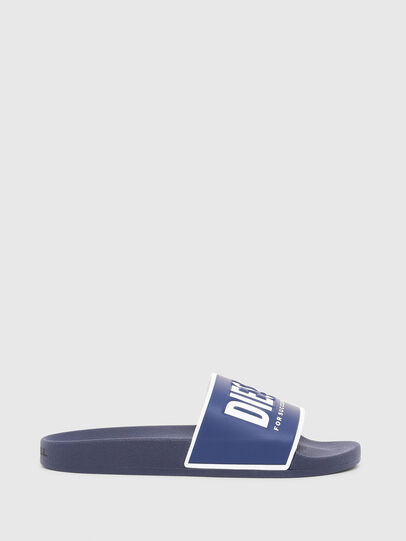 Diesel - SA-VALLA, Blue - Slippers - Image 1