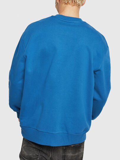 Diesel - S-CREW-DIVISION, Blue - Sweaters - Image 2