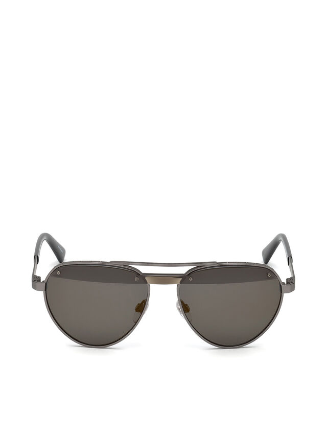 Diesel DL0261, Black/Grey - Eyewear - Image 1