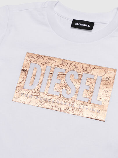 Diesel - TIRRIB-R, White - T-shirts and Tops - Image 3