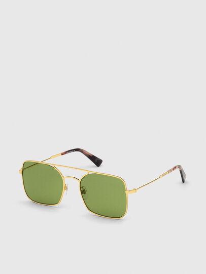 Diesel - DL0302, Gold - Sunglasses - Image 2