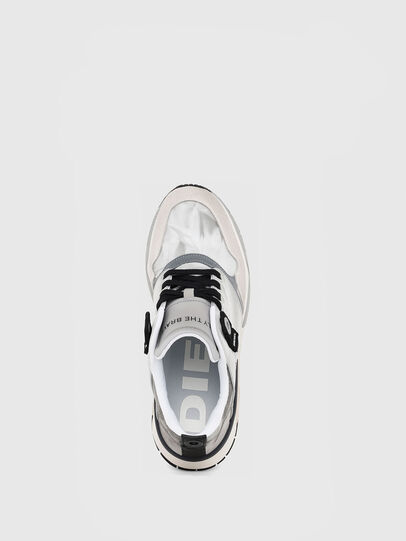 Diesel - S-BRENTHA LC, Light Grey - Sneakers - Image 4