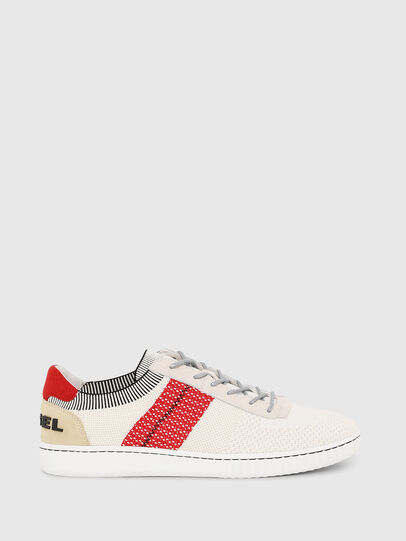 Diesel - S-MILLENIUM LOW, Cream - Sneakers - Image 1