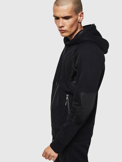 Diesel - S-IVAN, Black - Sweaters - Image 5
