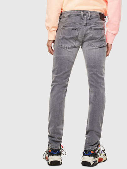 Diesel - Sleenker 0095E, Black/Dark grey - Jeans - Image 2