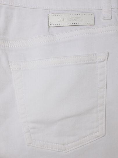 Diesel - PBOYSHORT JOGGJEANS, White - Shorts - Image 4