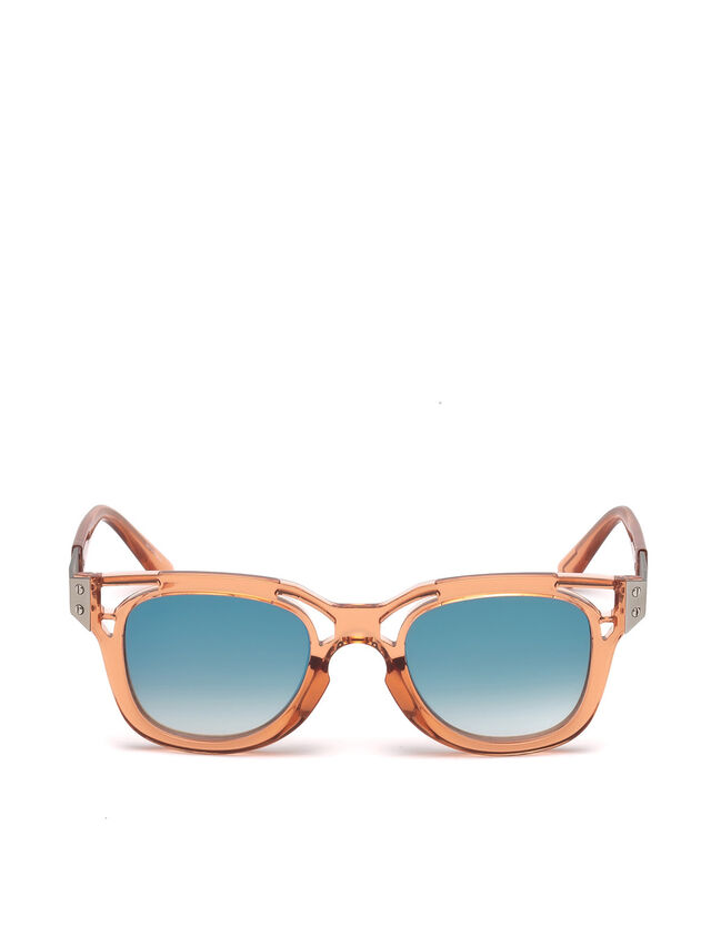 Diesel - DL0232, Peach - Sunglasses - Image 1