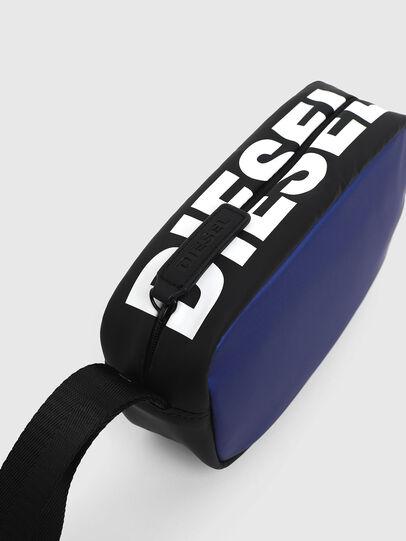 Diesel - BOLD POUCH, Blue/Black - Bags - Image 3