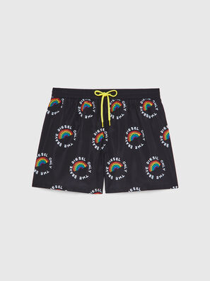 BMBX-WAVE 2.017-P, Black - Swim shorts