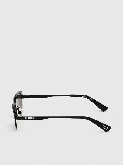Diesel - DL0313, Black/Violet - Sunglasses - Image 3