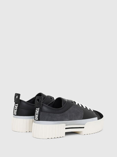 Diesel - S-MERLEY LOW, Black - Sneakers - Image 3