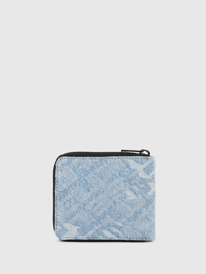 Diesel - ZIPPY HIRESH S, Blue Jeans - Zip-Round Wallets - Image 2