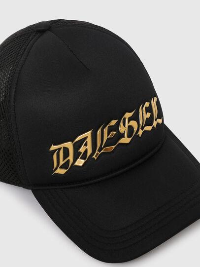 Diesel - C-TRUC, Black - Caps - Image 3