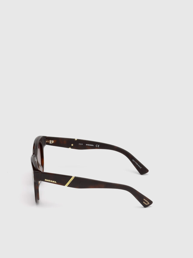 Diesel - DL0230, Brown/Black - Sunglasses - Image 3