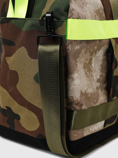 Diesel - SOLIGO, Green Camouflage - Travel Bags - Image 5