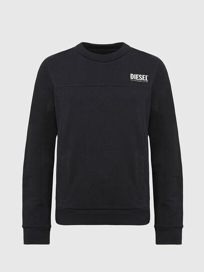 Diesel - UFLT-VICTORIAL, Black - Sweaters - Image 1