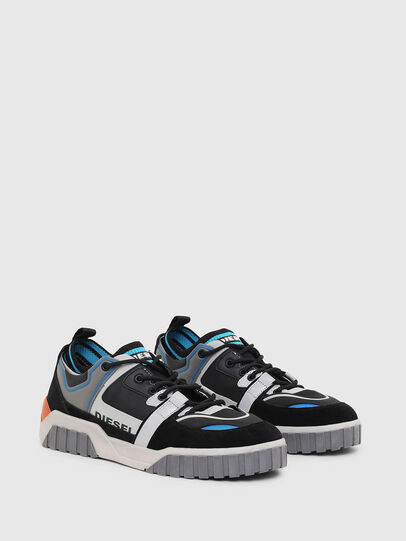Diesel - S-RUA SL LOW, Black - Sneakers - Image 2
